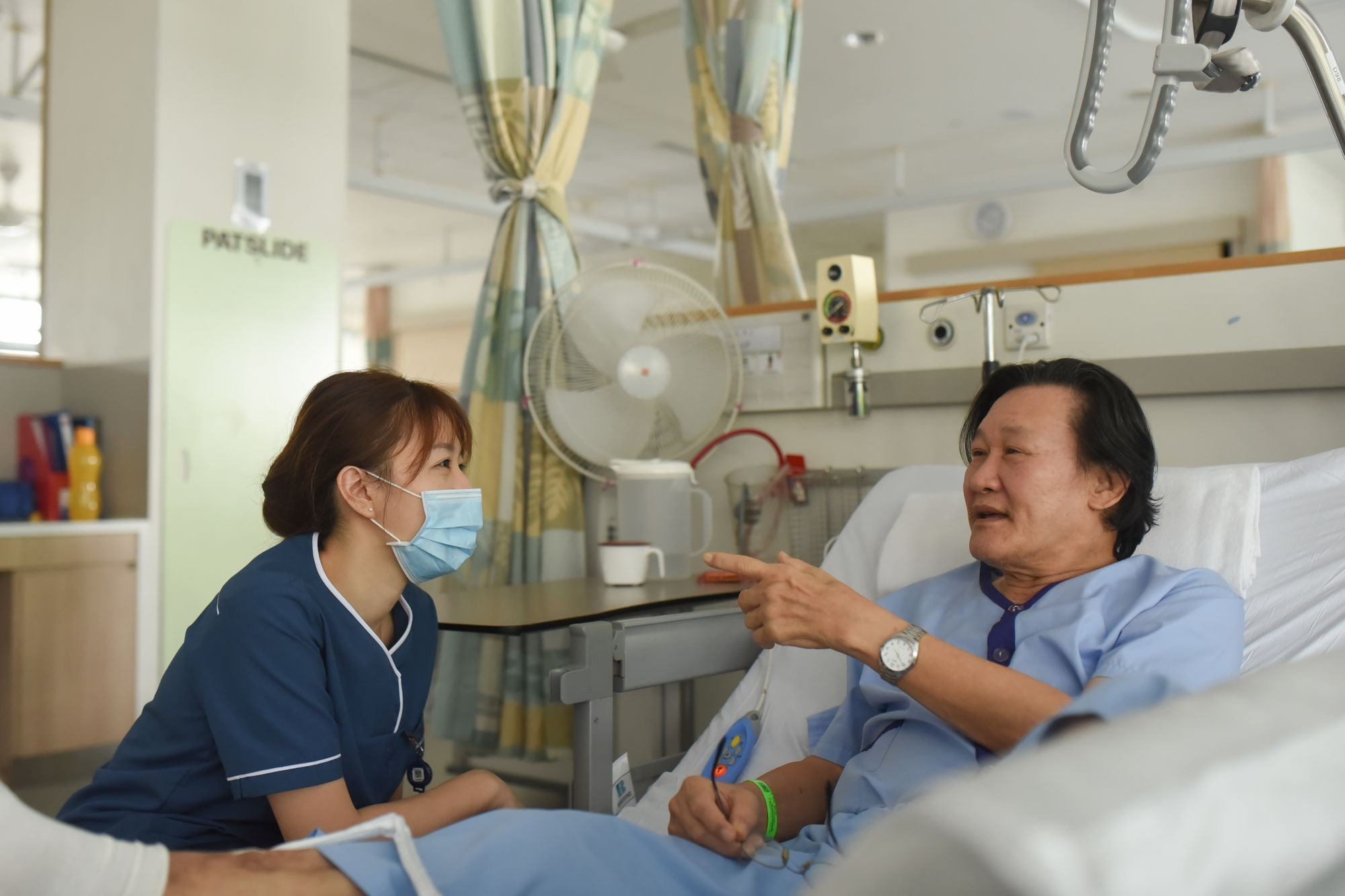 What a Community Nurse in Yishun Community Hospital in Singapore does