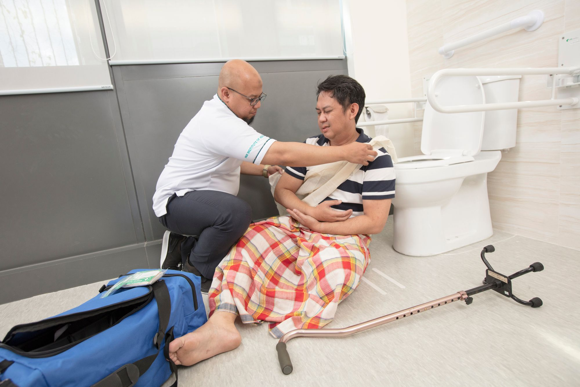 Healthcare Training courses at HMI Institute of Health Sciences, an AIC-appointed Learning Institute for Community Care professionals in Singapore