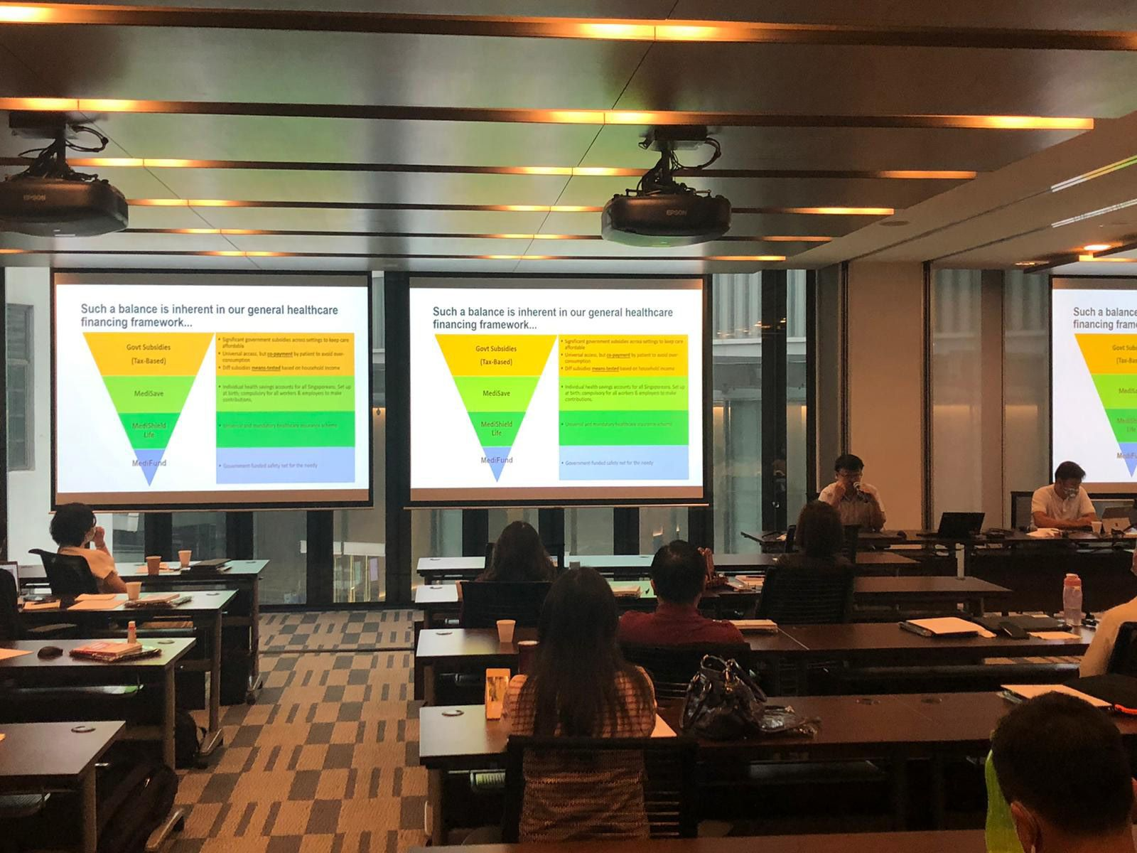 AIC organises an annual programme IGNITE Module 2 for new Community Care leaders in Singapore to learn about grants.