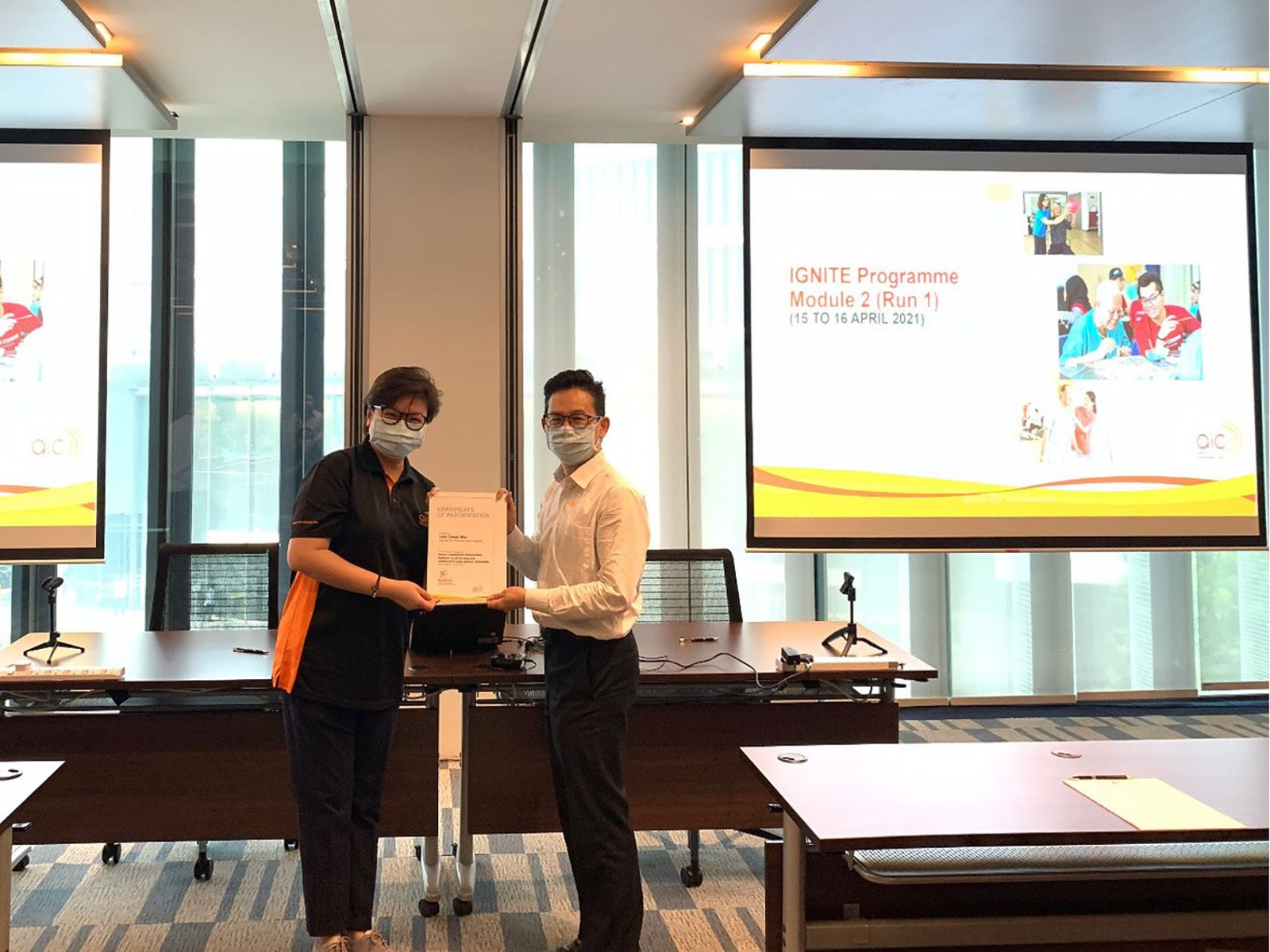 AIC organises an annual programme IGNITE Module 2 for new Community Care leaders in Singapore